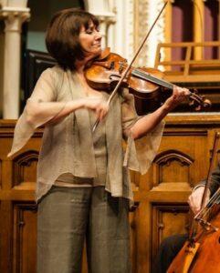Ani Kavafian performing at local church.