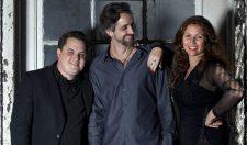 La Voz De Tres - Chilean vocalist Natalia Bernal, keyboardist Mike Eckroth, and guitarist and returning GMF performer Jason Ennis