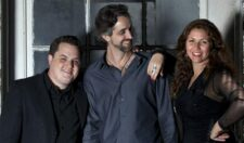 La Voz De Tres - Chilean vocalist Natalia Bernal, keyboardist Mike Eckroth, and guitarist and returning GMF performer Jason Ennis