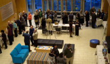 Overhead view of the 2017 Geneva Music Festival Gala held at the Gearan Center.